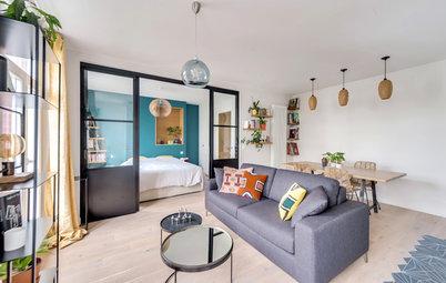 Visite privée : Un deux-pièces de 37 m² optimisé à souhait