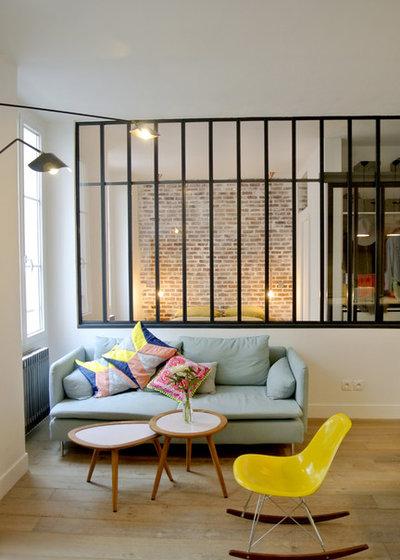 chambre avec verriere - home design & architecture - cilif