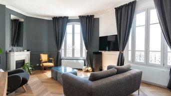 Projet S & B - Rénovation d'un appartement haussmannien