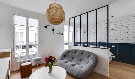 Avant/Après : Un studio de 30 m² avec coin nuit pour un étudiant