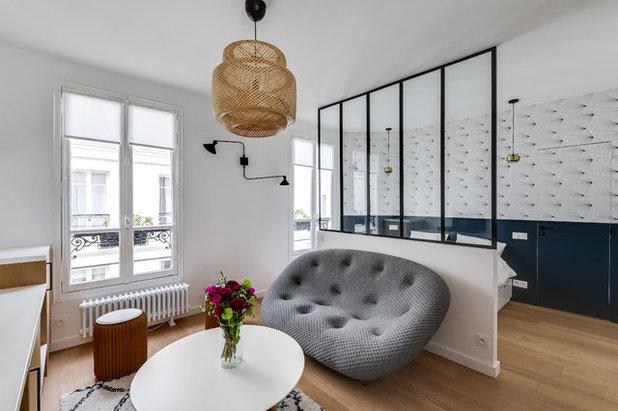 Scandinave Salon by Transition Interior Design