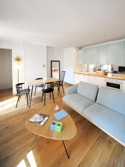 Contemporain Salon by Créateurs d'Intérieur