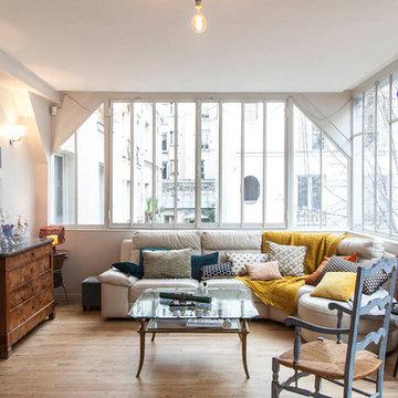 Réagencement d'un loft sur 3 niveaux à Montmartre