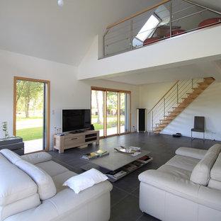 Moderne Wohnzimmer in Angers Ideen, Design & Bilder | Houzz