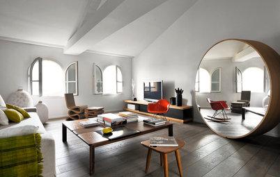 Salon de la Semaine : Un salon au mobilier inspiré à Marseille