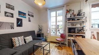 Réhabilitation d'un appartement T2