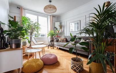 Avant/Après : Nouveaux sols pour nouvelle vie dans 60 m2 à Paris