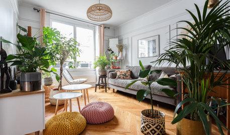 Neue Böden für neues Leben in einem Pariser Altbau