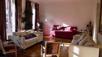 Rénovation appartement haussmanien Paris 7 Champs de Mars