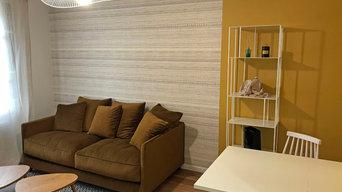 Rénovation complète d'un appartement 2 pièces