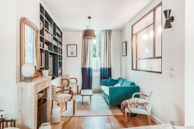 Contemporain Salon by Anne de Saulieu - Décoration d'intérieur