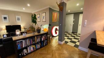 Rénovation complète d'un appartement dans le centre de Reims.