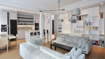 Rénovation complète d'un appartement Paris 6