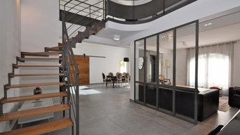 Rénovation complète dans maison aux monts d'Or à Lyon