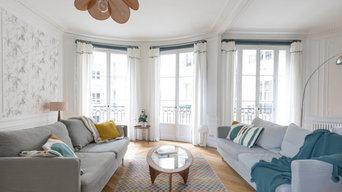 Rénovation d'appartement - rue Théodore de Banville