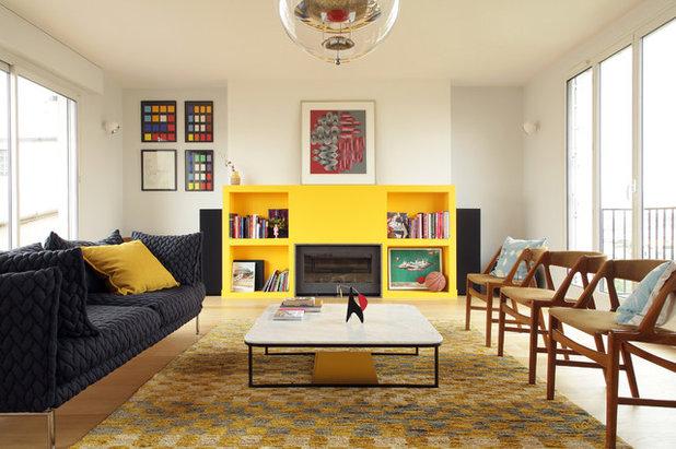 pi ce vivre de la semaine un espace convivial pour un dj. Black Bedroom Furniture Sets. Home Design Ideas