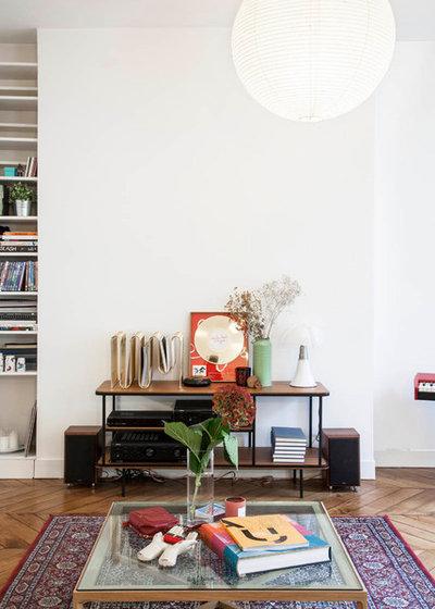 Contemporain Salon by Boclaud Architecture