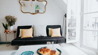 Rénovation d'un appartement de 27m² à Paris 9ème