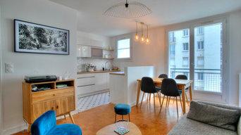 Rénovation d'un appartement des années 60