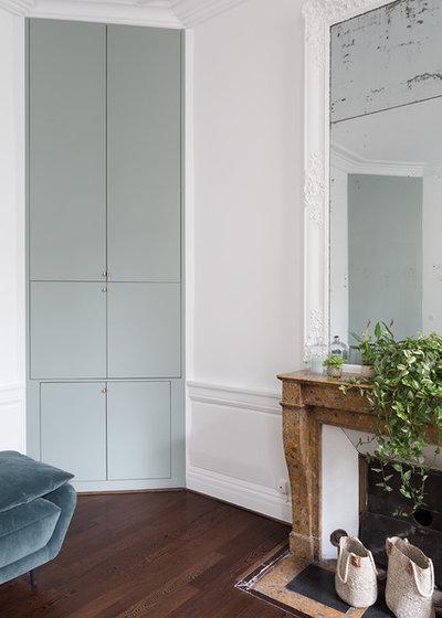 Contemporain Salon by Lagom architectes