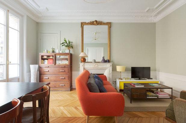 Contemporain Salon by Monsieur Peinture