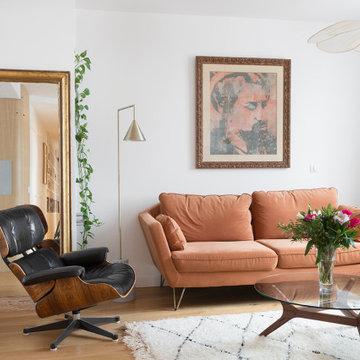 Rénovation d'un grand Appartement Parisien