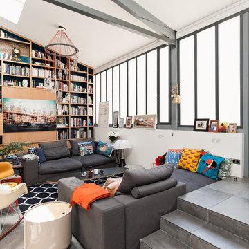 Rénovation d'un loft contemporain
