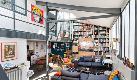 Visite Privée : Un loft contemporain en fond de cour à Paris