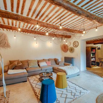 Rénovation d'un mas en Provence