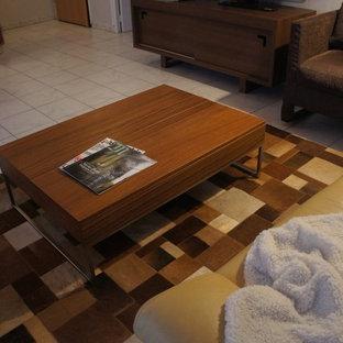 Rénovation d'un séjour, salle à manger et salle de bain