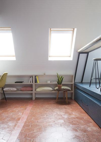 Contemporain Salon by OUI Architecture