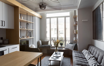 Houzz Tour: Bespoke Storage and Bold Design Revive a One-bed Flat