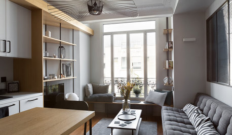Paris Houzz Tour: A One-Bedroom Unit's Space-Smart Renovation