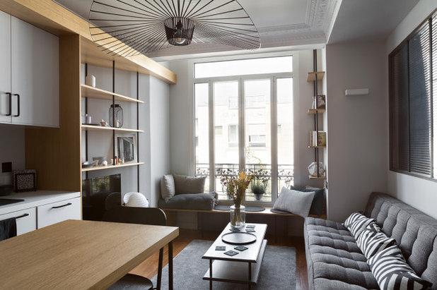北欧 リビング by Lagom architectes