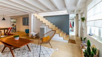 Rénovation d'une maison années 30