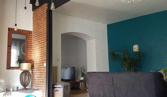 rénovation de maison style industriel