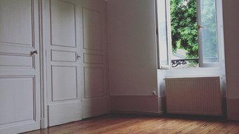 Rénovation des peintures et parquets dans un appartement