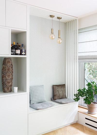 北欧 リビング by Mon Concept Habitation   Paris, Lille, London