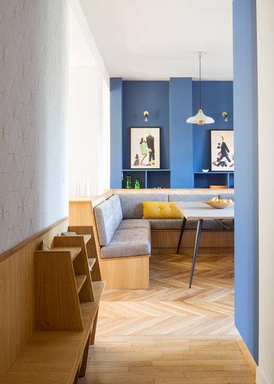 Contemporáneo Salón by Atelier Sagitta