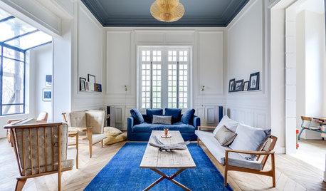 Le Case di Houzz: una Villa dell'800 Rinasce grazie al Bianco e al Blu