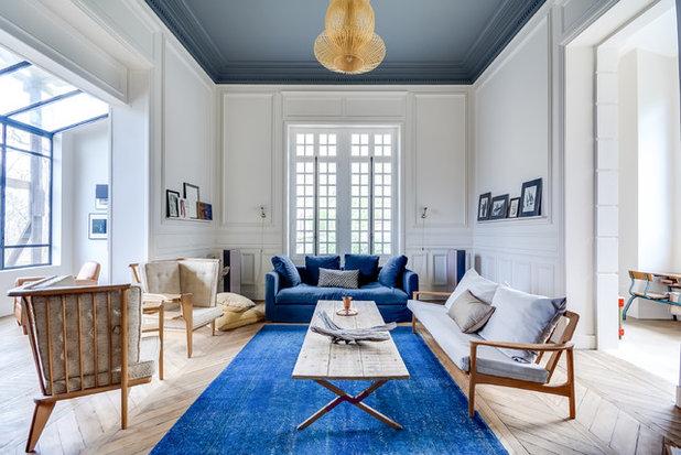 Classique Chic Salon by Villa Rosemont
