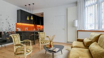 Repenser un studio de 36 m2 à Bordeaux