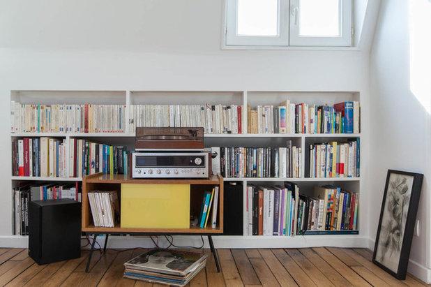 Contemporary Living Room by GALI Sulukjian Architecte