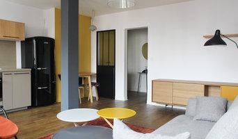 Restructuration et aménagement d'un appartement, Paris XXe - Pièce à vivre