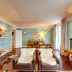 Appartement Spacieux Et Lumineux 65m2 Scandinave Salon Paris Par Philippe Demougeot