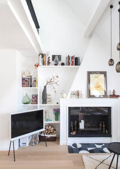 Contemporain Salon by atelier daaa