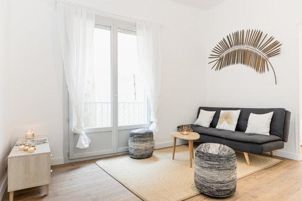 Salon by Laurence VERNET architecte d'intérieur décoratrice