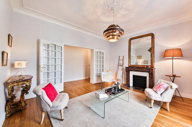 Salon de la semaine un boudoir dans l 39 ouest parisien - Salon parisien ...