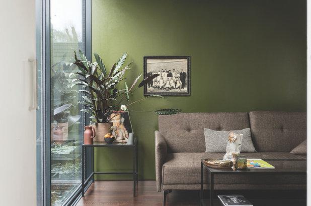 Moderne Salon by Farrow & Ball