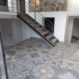 Salon en imitation de ciment à Clamart